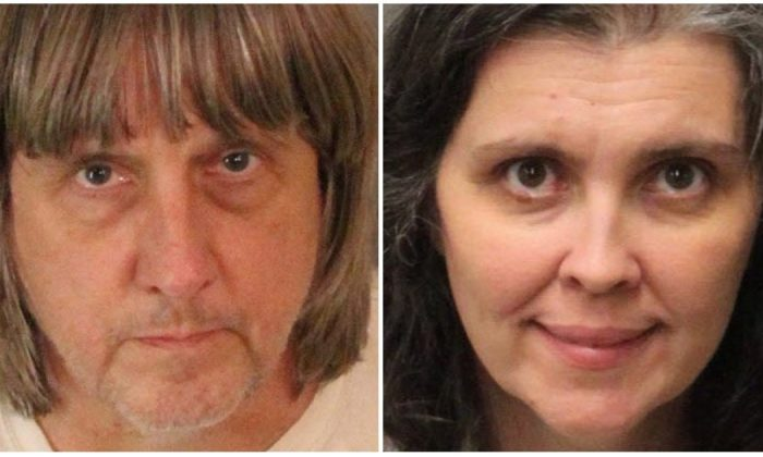 David and Louise Turpin. (San Bernarrdino Sheriff's Office)