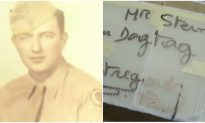 73 years after he lost his dog tag in WWII, veteran receives mysterious letter from a man in France