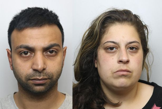 Akshar Ali and Yasmin Ahmed, who were found guilty of murdering Ali's wife, Sinead Wooding. (West Yorkshire Police)