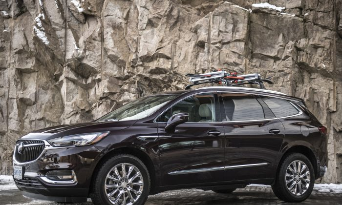 2018 Buick Enclave. (Courtesy of GM)