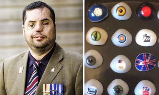 Ex-Soldier Who Lost Eye to Sniper in Iraq Has Lost Glass Eye Collection