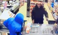 'It's Fake': Security Guard Casually Shoots Robbers
