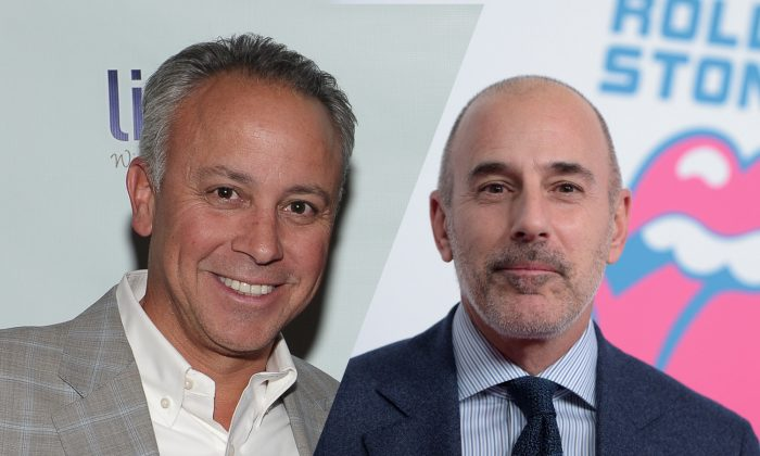 Former Today executive producer Don Nash and former Today anchor Matt Lauer. (Photo by Rommel Demano/Getty Images)(Photo by Jason Kempin/Getty Images for for The Rolling Stones)