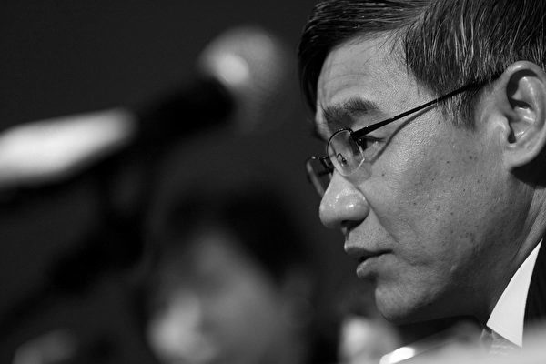 Li Yihuang, former chairman of Jiangxi Copper and deputy governor of Jiangxi Province, in Hong Kong,  on Wednesday, March 31, 2010. (Jerome Favre/Bloomberg via Getty Images)