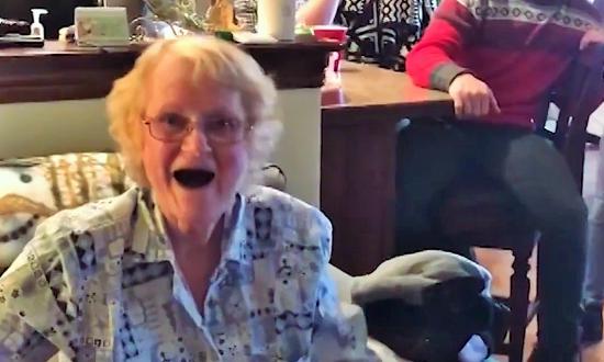 Grandma battling cancer gets gift from granddaughter, but when she unravels it—finds secret behind
