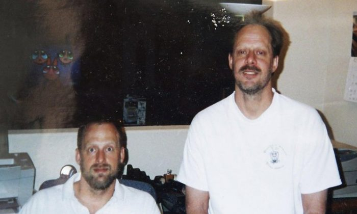 Eric Paddock (L) and Stephen Paddock (R) in undated photo. (AP)