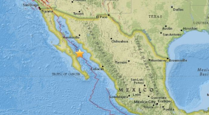 Natural disaster shakes Baja California, Central Mexico