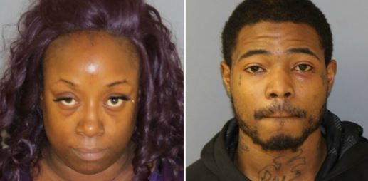Ashley Gardener (L); and Breon Mickens. (New Jersey State Police)