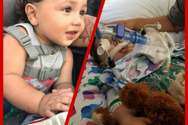 Dominic Ramirez's pictures on the crowdfunding site, GoFundMe, to fund his medical expensis.  He was pronounced brain-dead on Jan 19, 2018.  (Brelynn Aleshire/Go Fund Me)