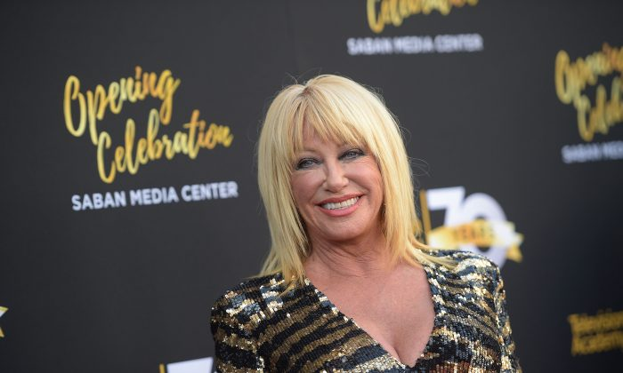 Suzanne Somers Says She's 'Happy' About Trump