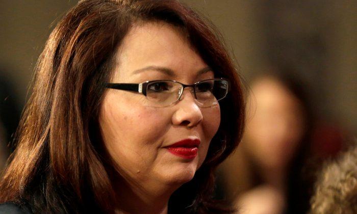 A second for Senator, a first for Senate: Duckworth announces pregnancy
