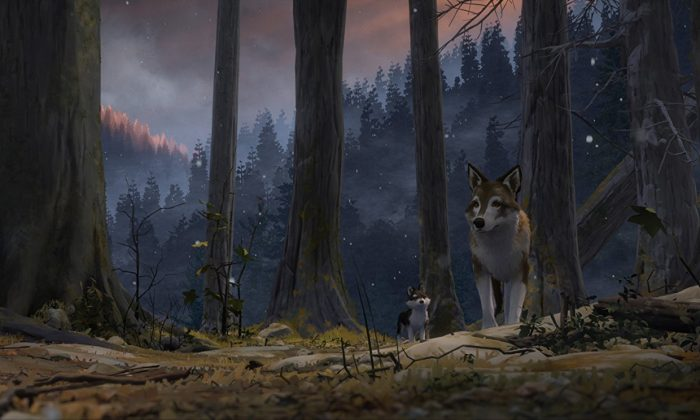 "A scene from ""White Fang."" (Sundance Institute pro)"