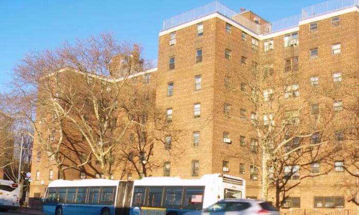 NYCHA's Sheepshead/Nostrand Houses in Sheepshead Bay, Brooklyn, New York on Jan. 24, 2018. (Salina Wang/NTD)