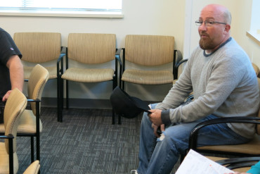 Robert Kerley is recovering from an opioid addiction with help from Kaiser Permanente's pain management program in Colorado. (John Daley/Colorado Public Radio)
