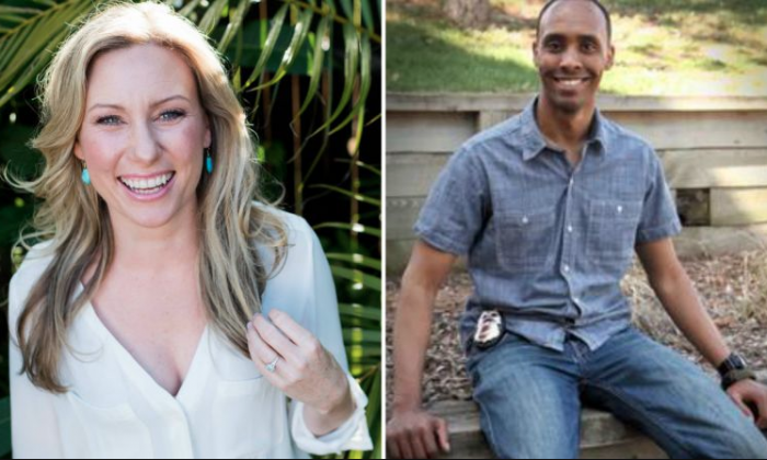 Justine Damond, from Sydney, is seen in this 2015 photo released by Stephen Govel Photography in New York, on July 17, 2017. (Stephen Govel Photography/Handout via Reuters); Minneapolis Police Department Officer Mohamed Noor. (City of Minneapolis Ward 8 Update Newsletter)
