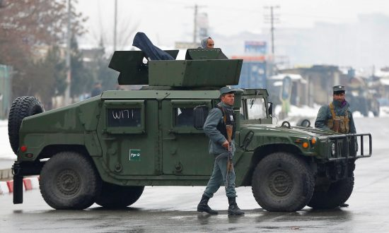 Terorrists Attack Army Post Near Military Academy in Afghan Capital