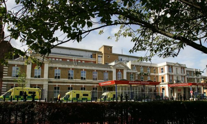 King's College hospital in London on Sep. 26, 2007. (Cate Gillon/Getty Images)