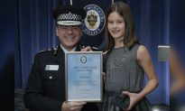 Girl, 10, Recognized for Her Bravery After Chasing a Burglar From Her Home