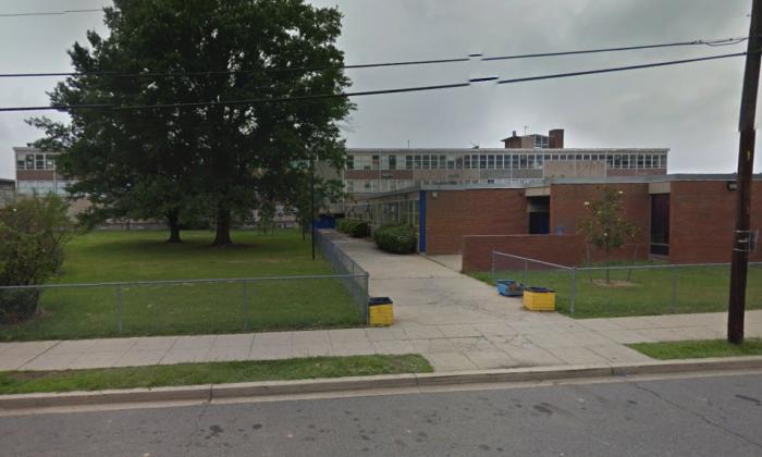Ballou High School in Washington, D.C. (Screenshot via Google Maps)