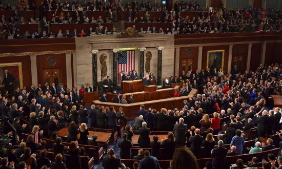 Trump in State of Union: 'We are rediscovering the American way'