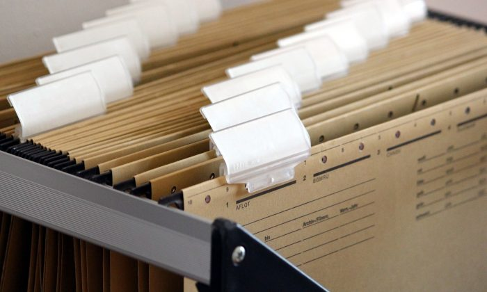 Hundreds of top secret files from the Australian government were found in a filing cabinet sold at a second-hand store in Canberra, Australia. (Max Pixel)