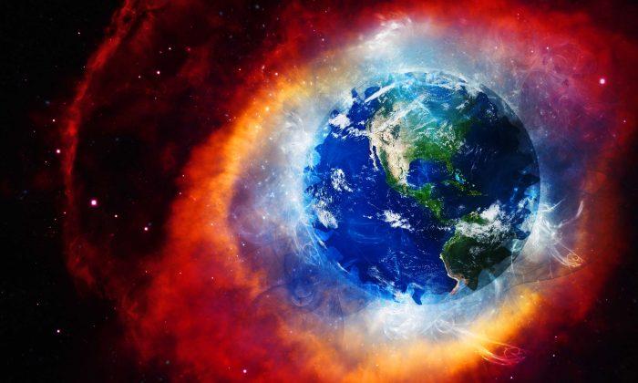 Earth's magnetic field visualized. (Shutterstock)