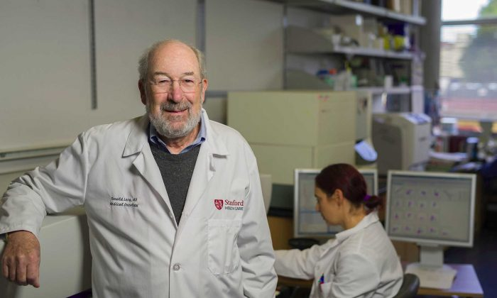 Ronald Levy, professor of oncology at the Stanford University School of Medicine, who led the research. (Steve Fisch/Stanford School of Medicine)