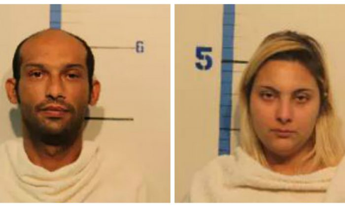 Steve Marks and Lila Miller. (Rockwell County Jail)