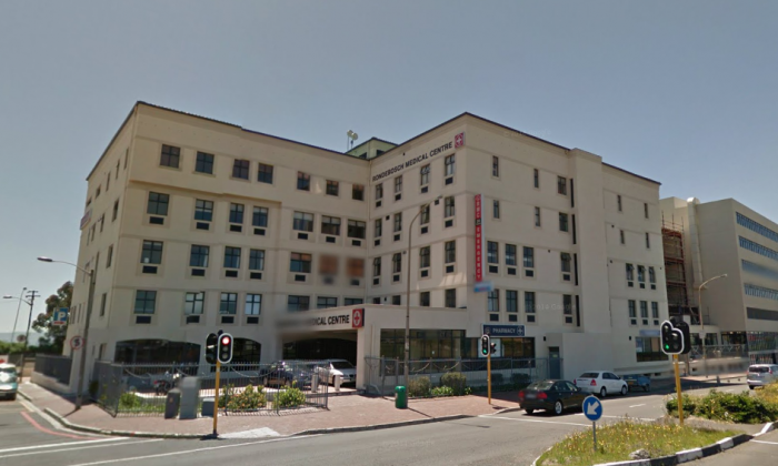 Rondebosch Medical Centre Private Hospital in Cape Town, South Africa. (Screenshot via Google Street View)