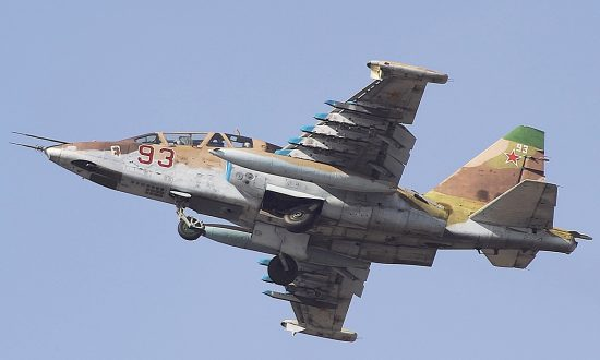 Russian Fighter Jet Shot Down in Syria: Report