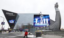 Neither Snow nor Slush Keeps Fans From Super Bowl Joy