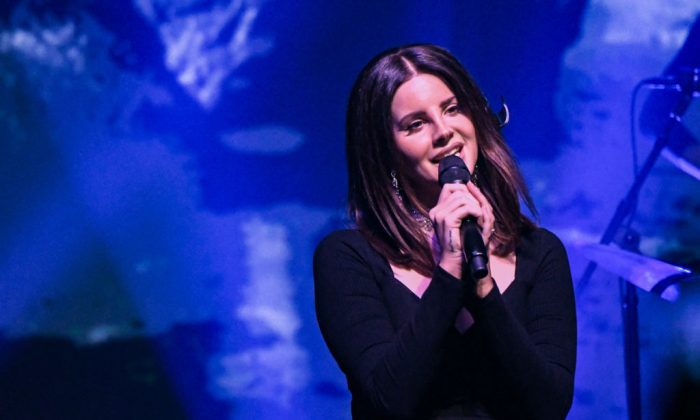 Singer Lana Del Rey performs at Terminal 5 in New York City on Oct. 23, 2017. (Mike Coppola/Getty Images)
