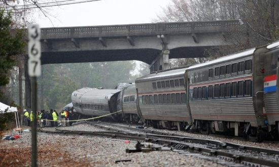 Amtrak Train Reportedly Traveling on Wrong Track in Fatal Crash