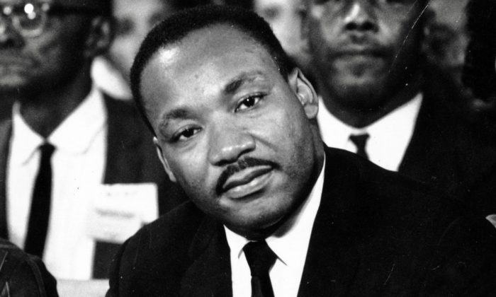 American clergyman and civil rights campaigner Martin Luther King (1929–1968) in September 1964.  Keystone/Getty Images