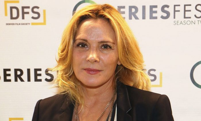 Actress Kim Cattrall on June 22, 2016, in Morrison, Colo. (Jason Bahr/Getty Images for SeriesFest)