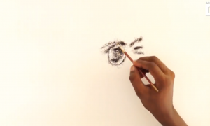 Indian Artist Creates Amazing Portrait—Here's What It's Made Of