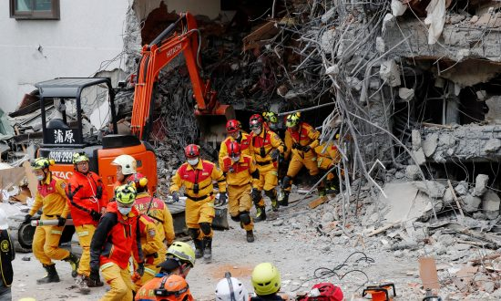At Least Four Killed, 60 Missing After Quake Rocks Taiwan Tourist Area