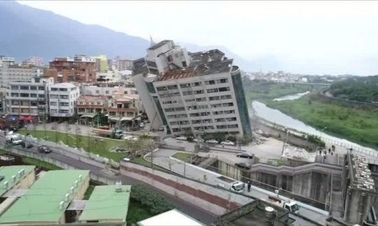 At Least Seven Killed, 67 Missing After Quake Rocks Taiwan Tourist Area