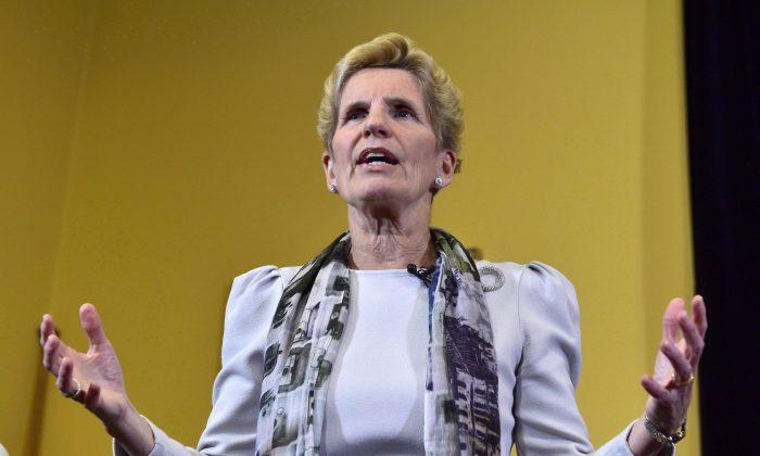 Ontario Premier Kathleen Wynne (The Canadian Press/Frank Gunn)