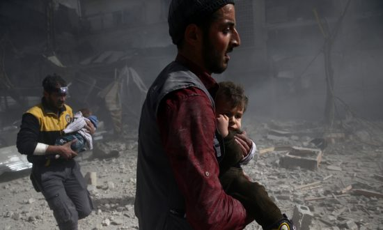 Relentless Syrian Air Strikes Kill 31, Including Children, in Eastern Ghouta