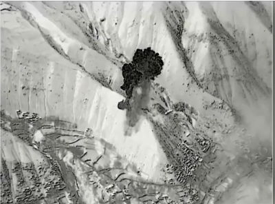 B-52 drops record number of smart bombs on Taliban