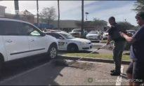 Sheriffs Tackle Alligator Under SUV in Parking Lot