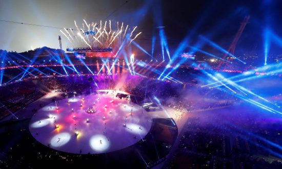South Korea Displays Technological Prowess At Opening Ceremony Pyeongchang 2018 Winter Olympics