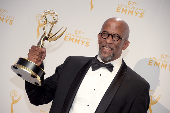 Reg E. Cathey during the 2015 Creative Arts Emmy Awards at Microsoft Theater on Sept. 12, 2015, in Los Angeles.  (Jason Kempin/Getty Images)