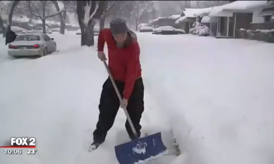 He Shoveled for Seniors, Veterans, and Single Moms—One Day He Was so Moved by This Surprise