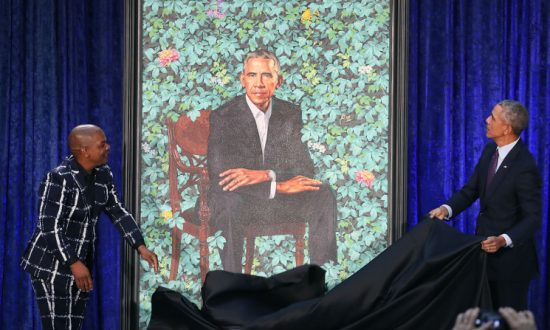 Artist for Obama's Presidential Portrait Painted Black People Decapitating White People
