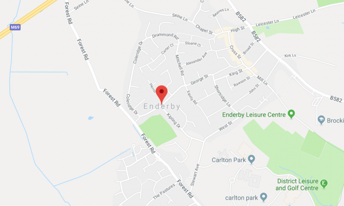 Enderby, Leicester, UK. (Screenshot Via Google Maps)