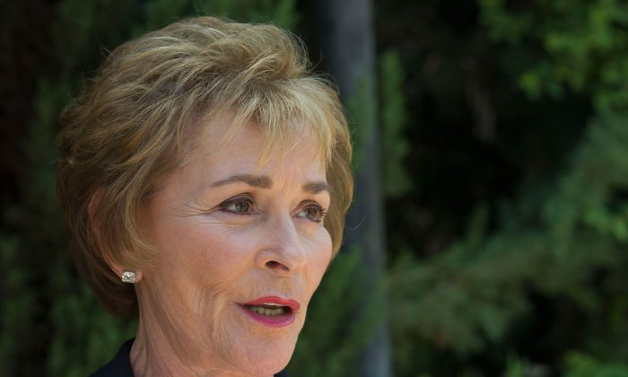 Judge Judy Sheindlin attends the 2014 Heroes Of Hollywood Luncheon at Taglyan Cultural Complex on June 5, 2014 in Hollywood, California. (Valerie Macon/Getty Images)