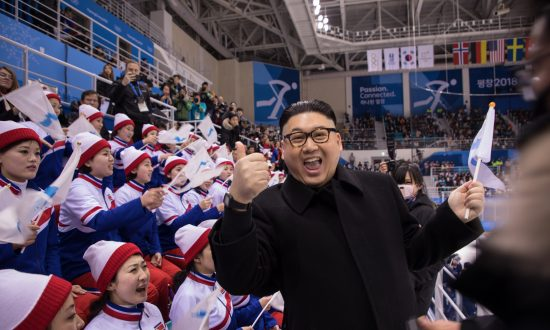 Journalists Fawn Over North Korean Cheerleaders and Chief of Propaganda and Agitation