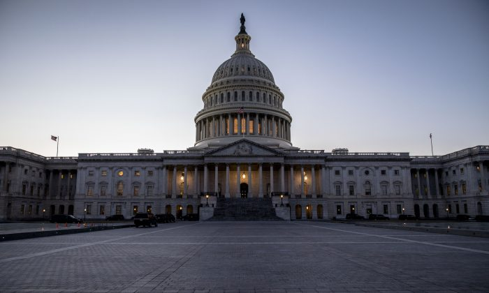 The Capitol in Washington on Jan. 30, 2018. (Samira Bouaou/The Epoch Times)